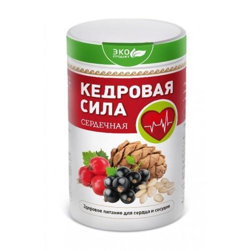 Продукт белково-витаминный Кедровая сила - Сердечная  г. Пушкино