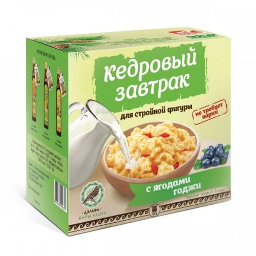 Завтрак кедровый для стройной фигуры с ягодами годжи  г. Пушкино